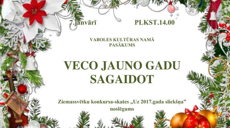VECO JAUNO GADU SAGAIDOT