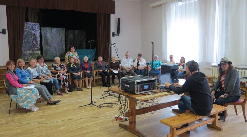 "Vaboles pagasta etnogrāfiskais ansamblis ""Vabaļis"" īsteno VKKF atbalstīto projektu"