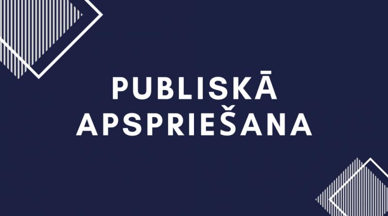 PAZIŅOJUMS  PAR LOKĀLPLĀNOJUMA PUBLISKĀS APSPRIEŠANAS PAGARINĀŠANU